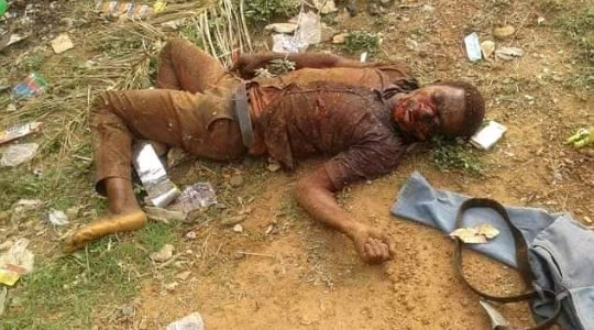 DEAD BODIES EVERYWHERE!!! Suspected Herdsmen Attack Ebonyi Communities, Slaughter Them Like Cows (GRAPHIC)