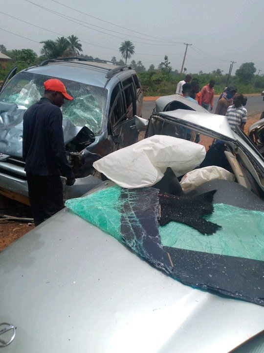 Sad! This Man Died in A Fatal Accident In Ekpoma, Check If You Know Him