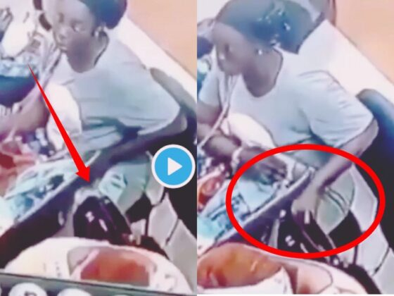 CCTV Catches Married Woman Stealing
