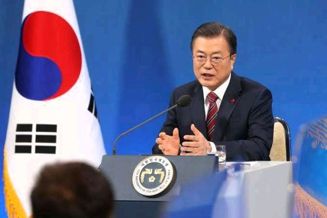 BAD NEWS TO KIDNAPPERS! ! South Korea President Finally Speaks On How Buhari Can End Terrorism And Banditry
