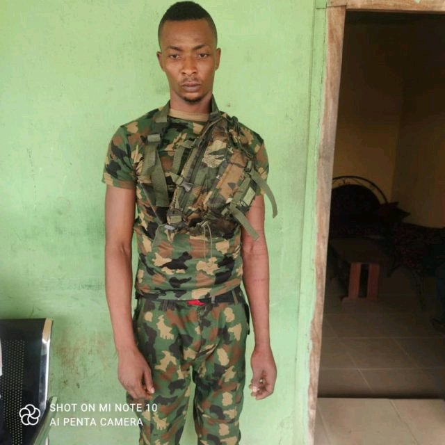JUST IN:  See the 3 Ex-Nigerian Army Officers Who Helped Nnamdi Kanu Train 4,400 ESN Soldiers