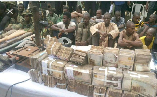 Another Set of Criminals Arrested with Large Sums of Money in Kaduna