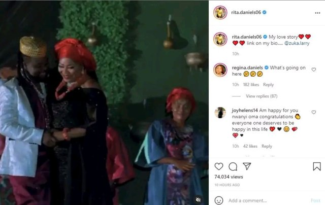 Read Regina's Awful Comment On Her Mother's Post With Her New Husband