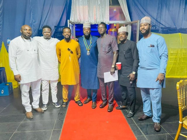 Scenes at the Handover Ceremony of Rotary Club of Abuja Gwarinpa Newage, District 9125