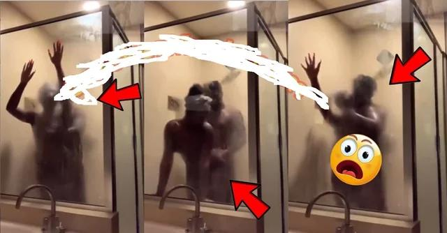 Yawa, Husband & Wife Mistakenly Share  Bathroom Video of Themselves Nacking on Facebook (WATCH IT)