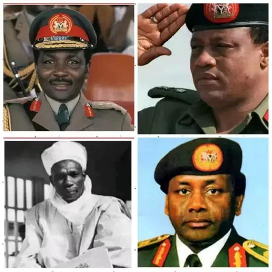 4 Nigerian Head of States You Thought Were Hausa But Are From Different Tribes