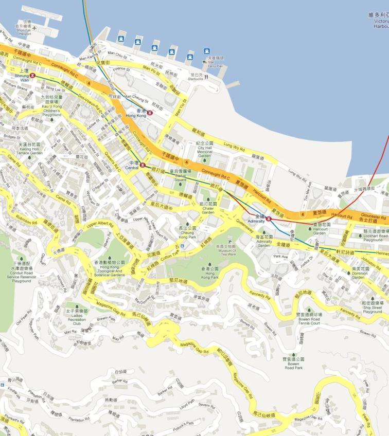 HK-中半山