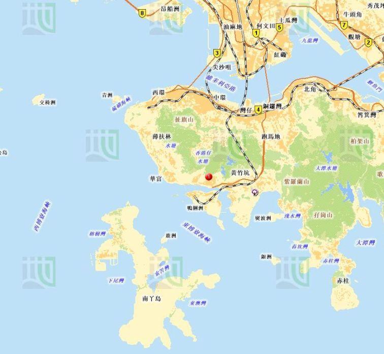 地圖-香港仔