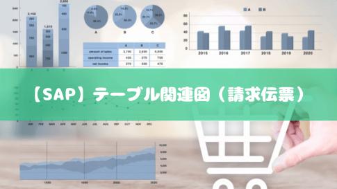 【SAP】テーブル関連図(請求伝票)