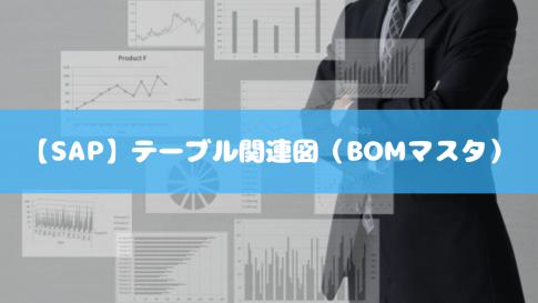 【SAP】テーブル関連図(BOMマスタ)