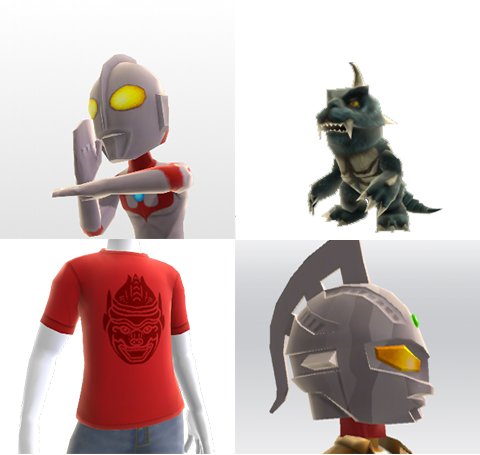 Ultraman 50th Anniversary Avatar Items Available On XBox Live