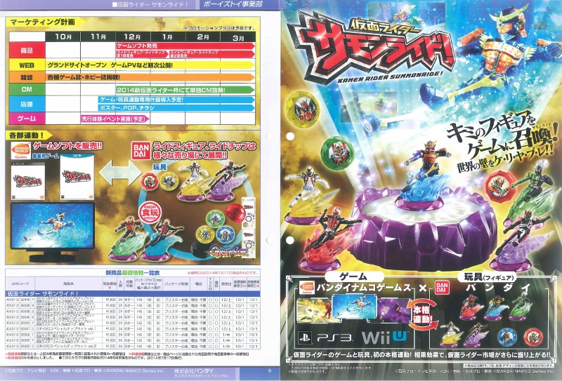 "New Kamen Rider ""Summonride"" Game Unveiled"