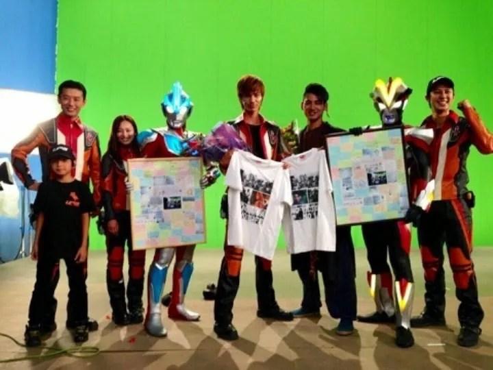 Ultraman Ginga S Finishes Filming