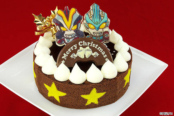Ultraman Ginga & Victory Christmas Cake Now On Sale