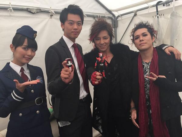 Kamen Rider Drive x Gaim Movie Theme Song Announced