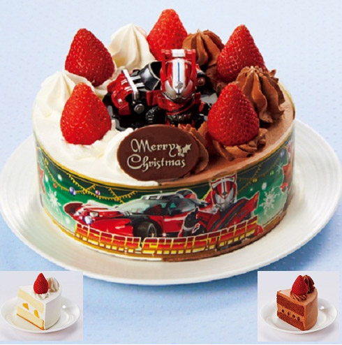 Kamen Rider Drive Christmas Cake to be Released