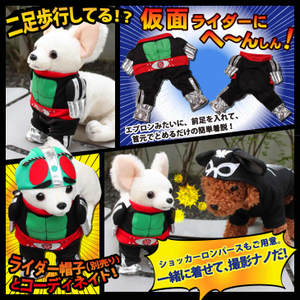 Kamen Rider Clothes Now Available for Dogs