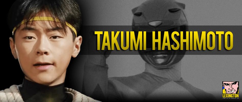 Zyuranger Actor Takumi Hashimoto to Attend Lexington Comic-Con