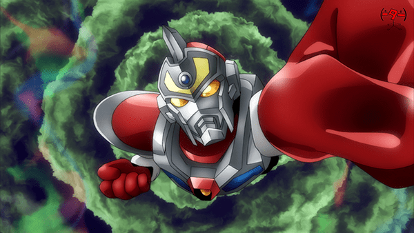 Trigger's Denkou Choujin Gridman Anime Short Released