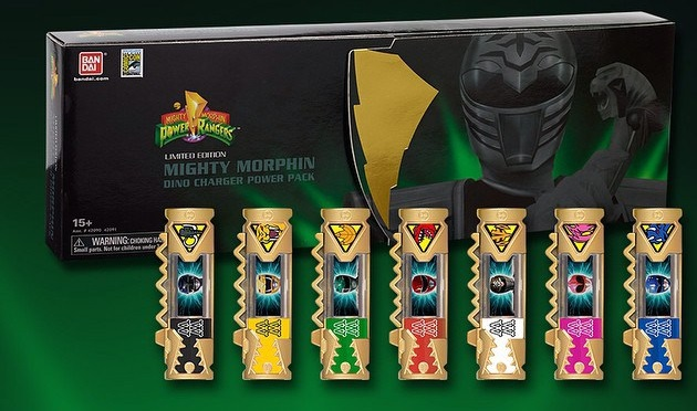 Bandai America Reveals SDCC Exclusive MMPR Dino Charger Power Pack