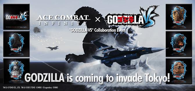 Ace Combat Infinity x Godzilla VS