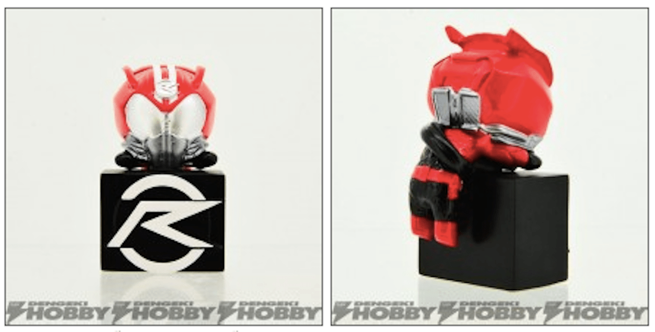 "Kamen Rider ""Double Jack Mascot"" Gashapon Characters to be Released"