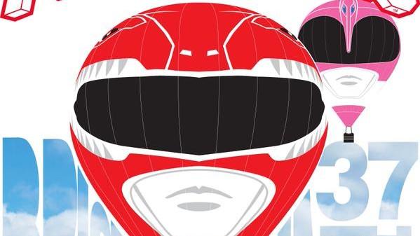 Power Rangers Hits The Bristol International Balloon Fiesta