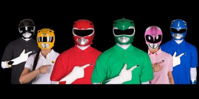 Zyuranger/Power Ranger Polo Shirts