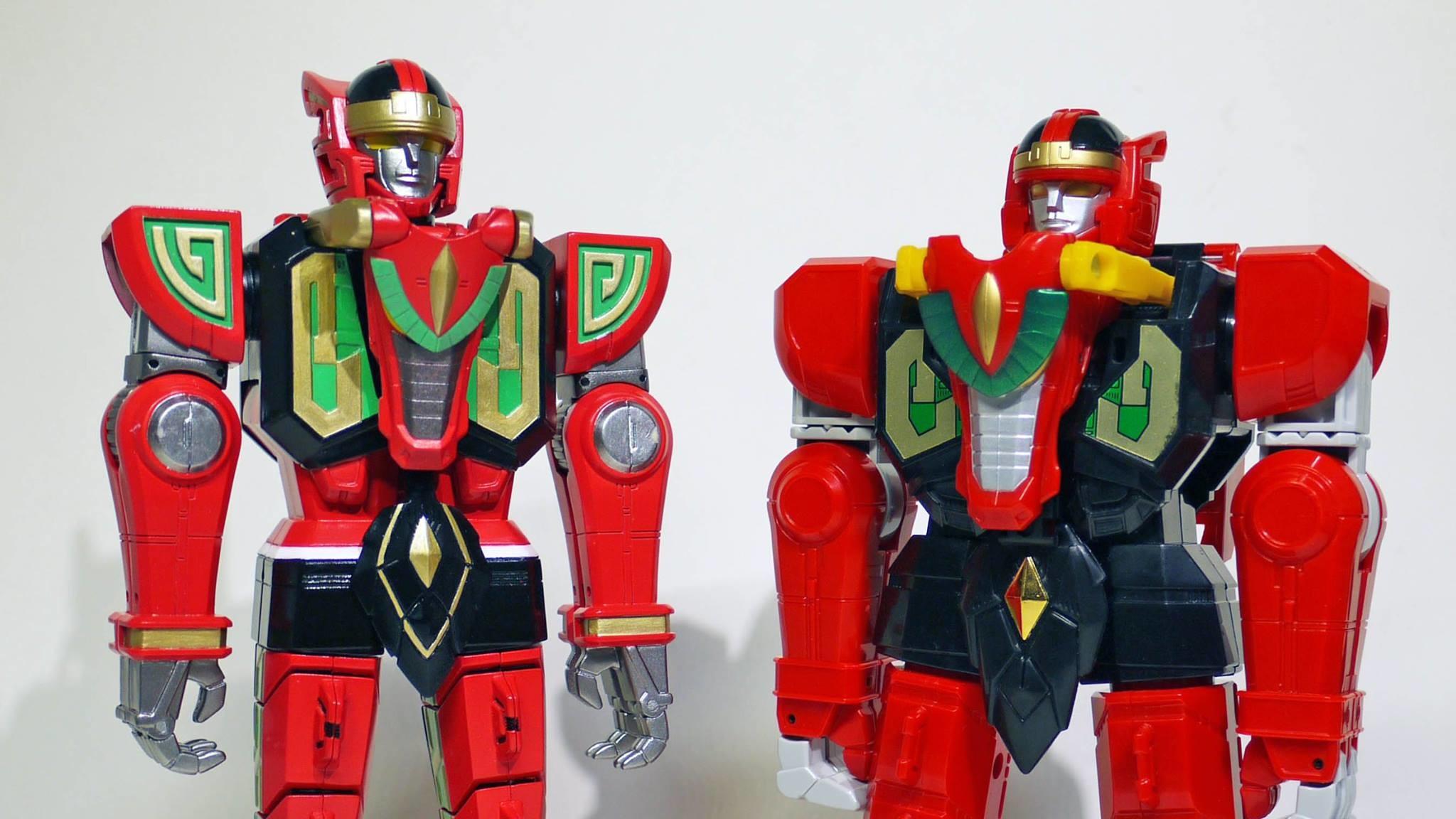 Tsuyoshi Nonaka Posts Photos of Power Rangers Legacy Toys
