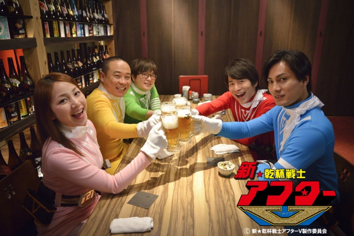 """Kanpai Senshi After V"" Achieves Fundraising Goal to Create 3rd Series and Movie"