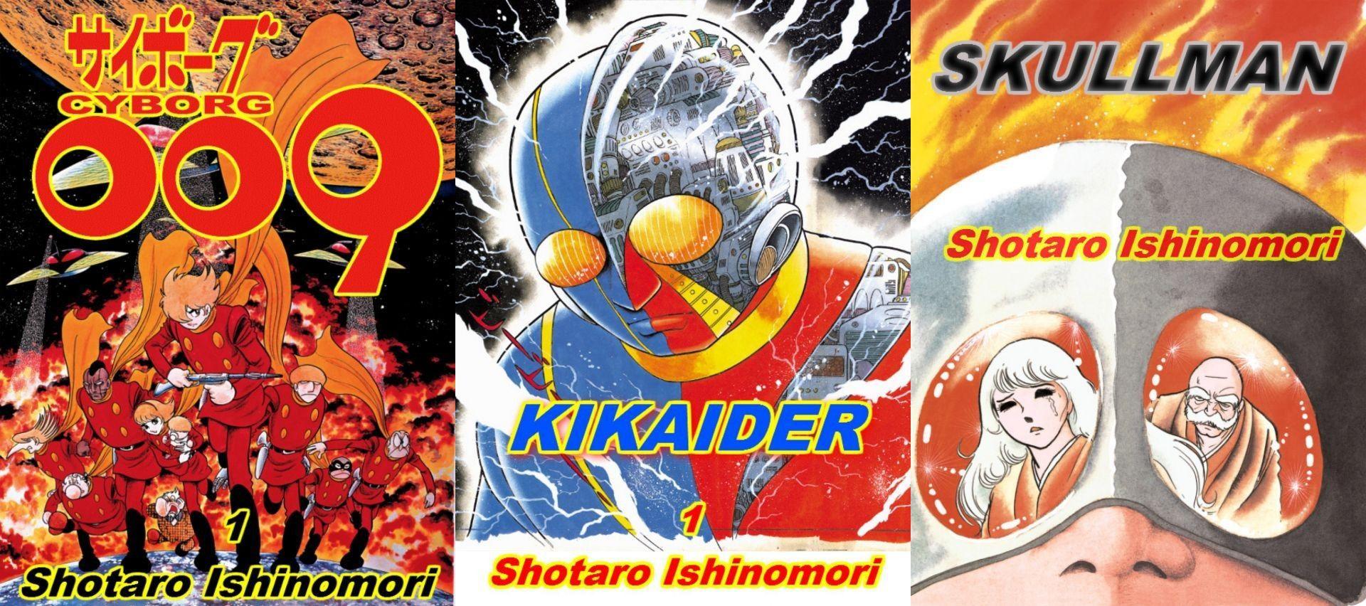 Where to Purchase Shotaro Ishinomori Works & Inspired Pieces