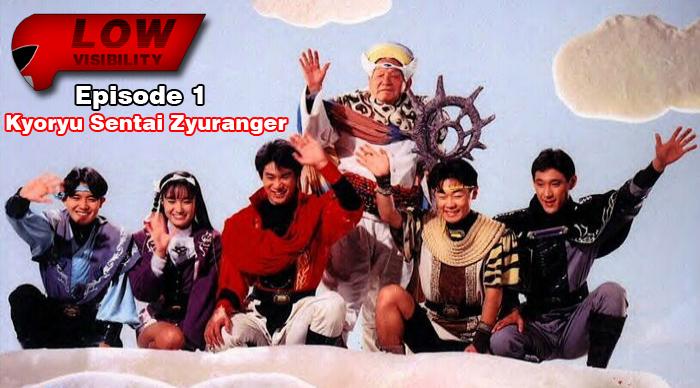 The Tokusatsu Network Presents Low Visibility #1: Zyuranger