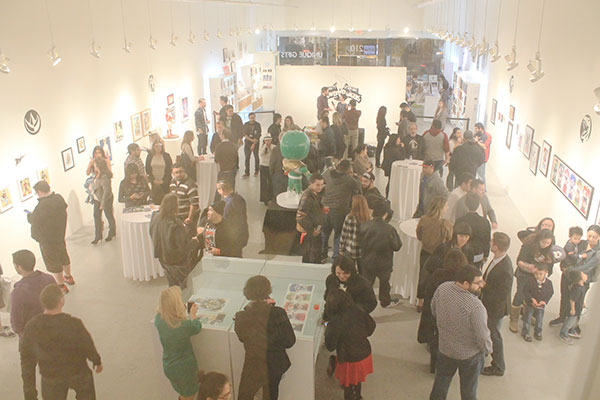"""Gallery Nucleus Opening Reception for Saban and Boom! Studios """"Power Rangers"""" #0 Launch"""