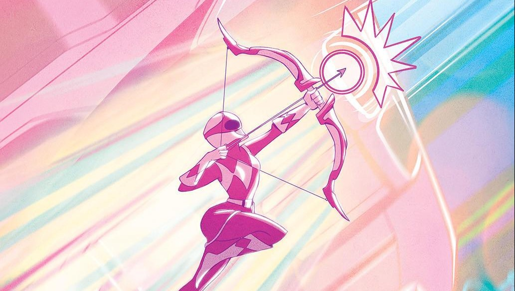 MMPR Pink Ranger to Star in Solo Comic