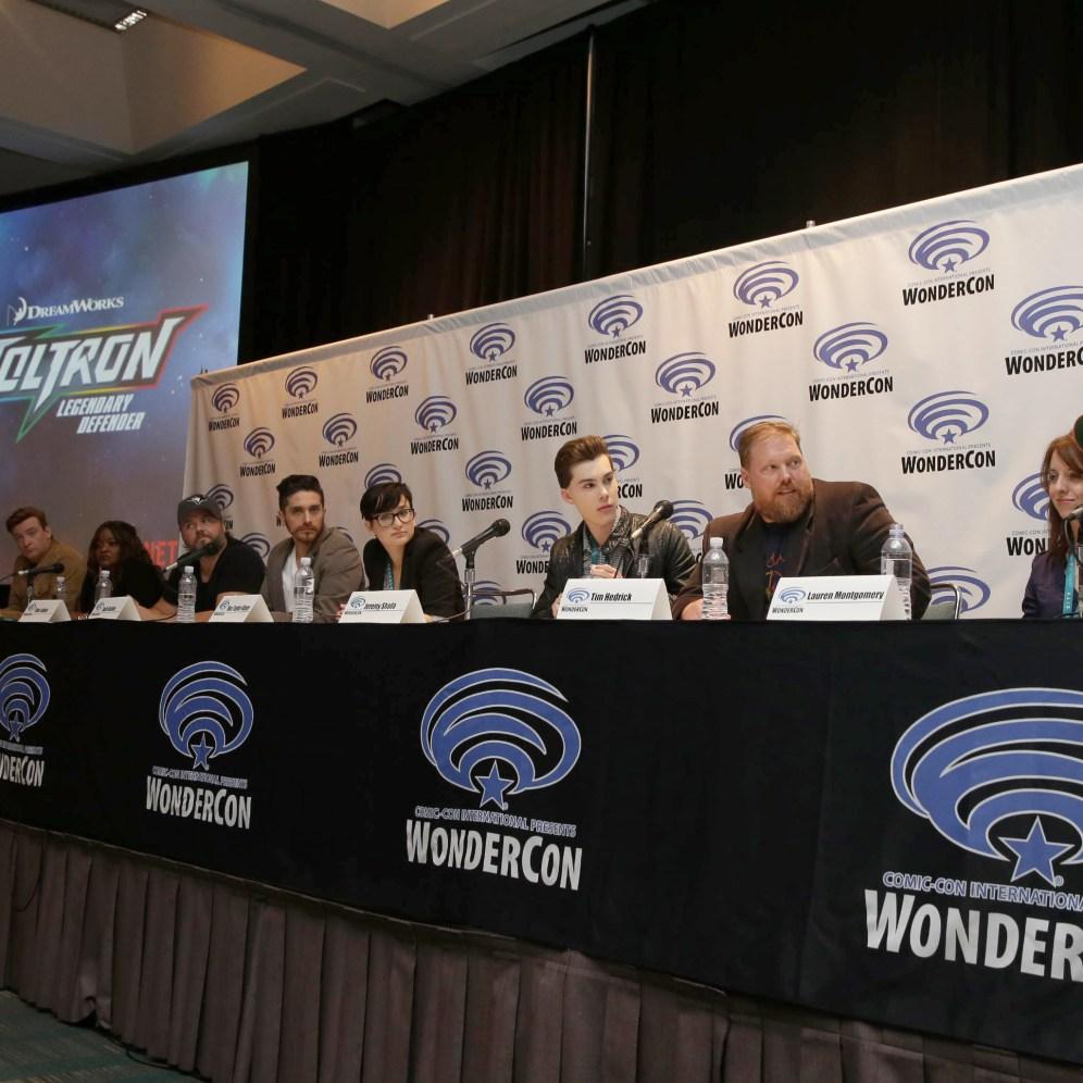 "Dreamworks / Netflix ""Voltron: Legendary Defender"" panel at WonderCon 2016"