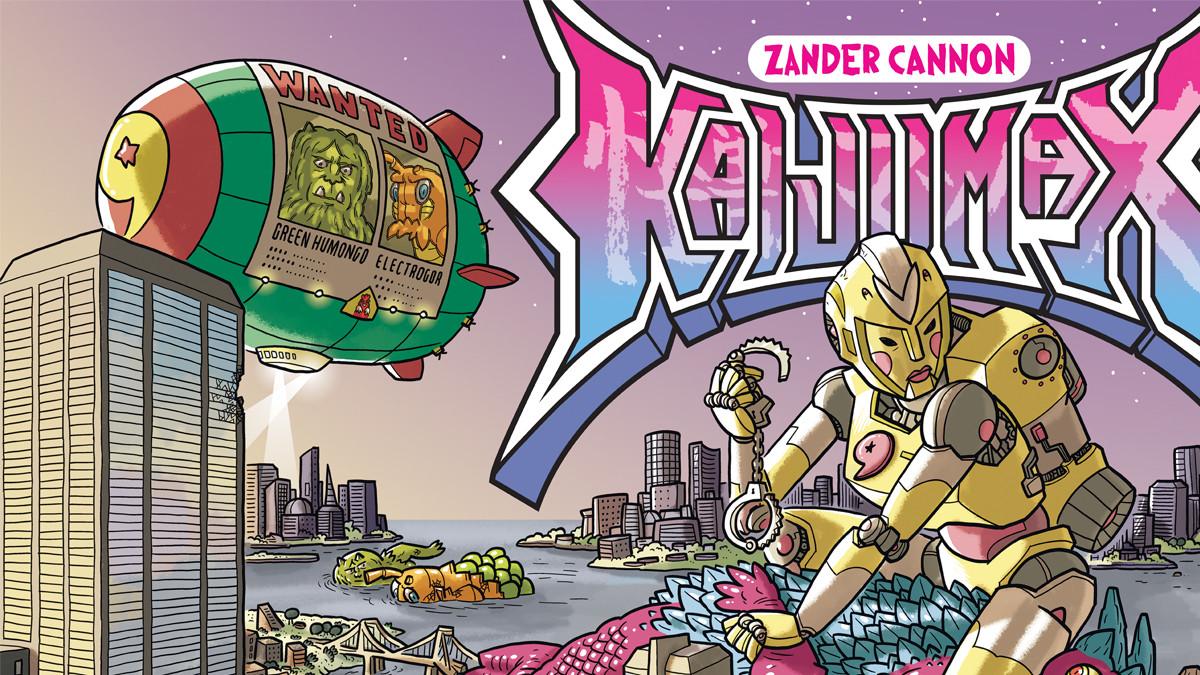 TokuNet Comics Corner: Interview with Zander Cannon
