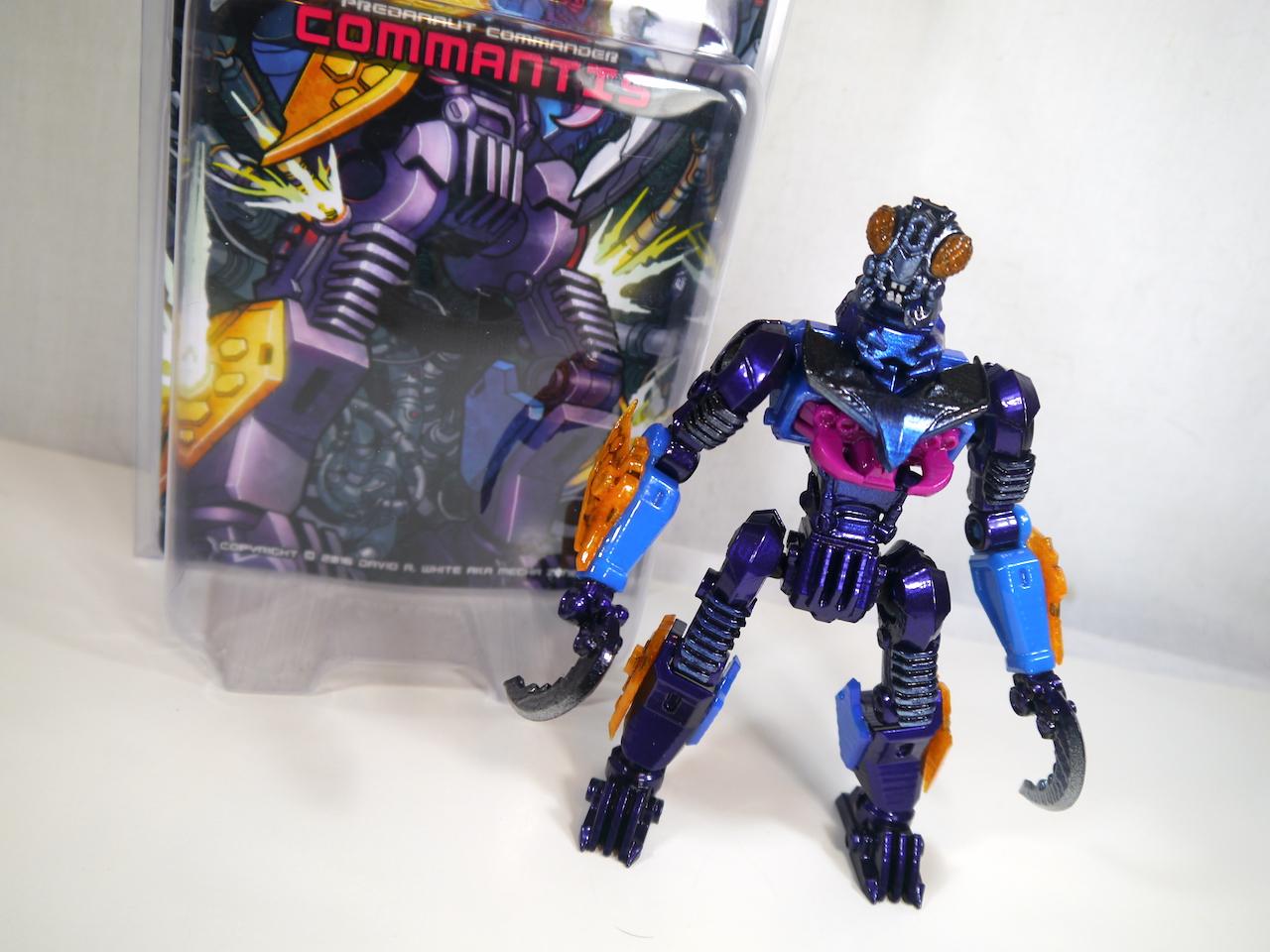 Mechanauts Predanauts Commander Commantis Toy Review