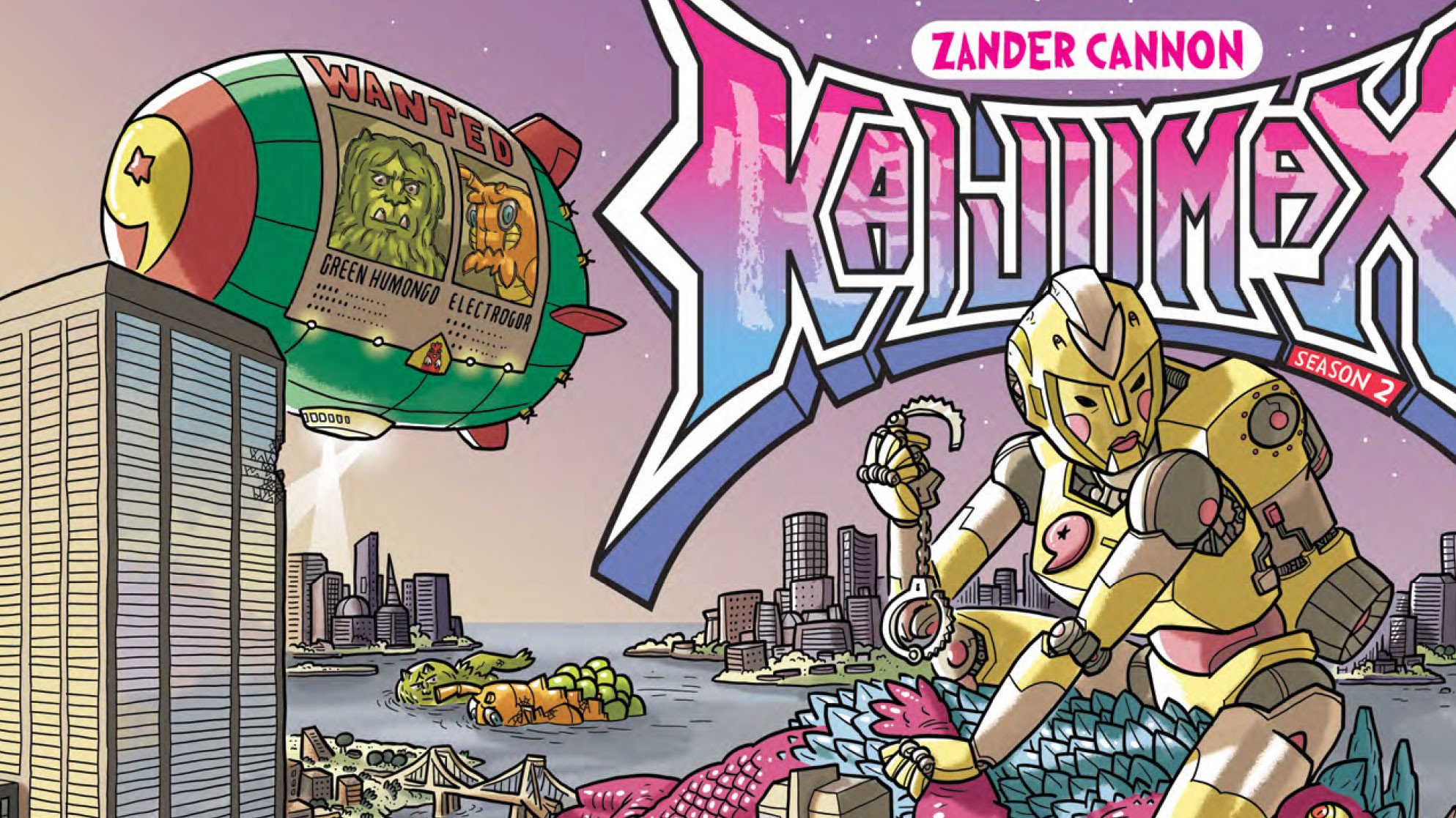 TokuNet Comics Corner: Kaijumax Season 2 #1 Preview
