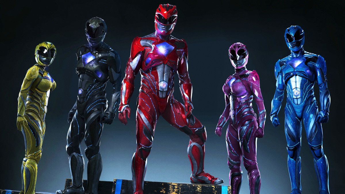 Power Rangers Movie Costumes Revealed