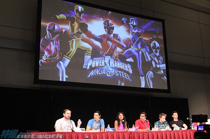 The Dino Charge cast prepares to announce the Ninja Steel cast