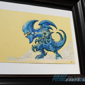 """My Little Kaiju: Bladehead"" by Alex Quintero"