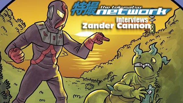TokuNet Podcast – Zander Cannon Interview at SDCC 2016