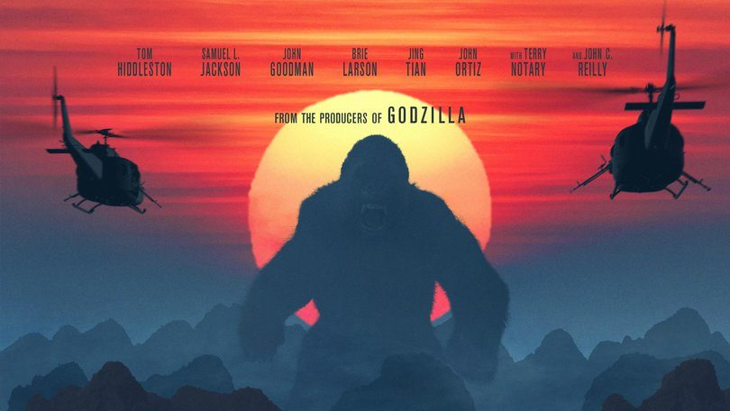 New Kong: Skull Island Trailer Debuts