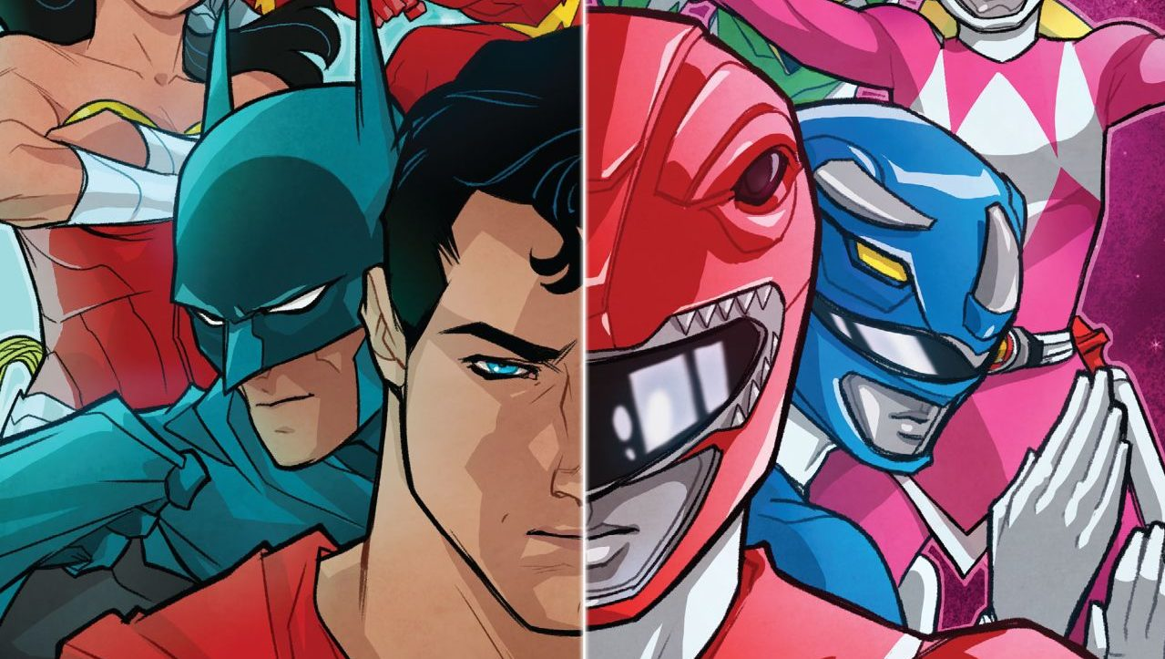 TokuNet Comics Corner: Justice League/Power Rangers #1