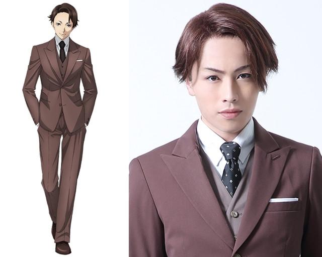 "Shinken Green Actor Cast In ""Joker Game"" Stage Play"