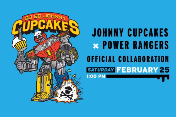 Johnny Cupcakes Previews Power Rangers Collaboration