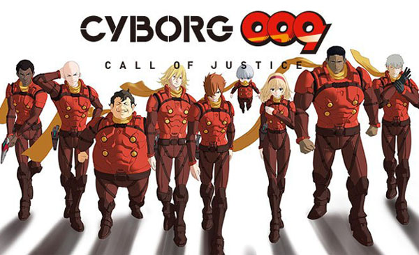 Cyborg 009: Call of Justice Now on Netflix