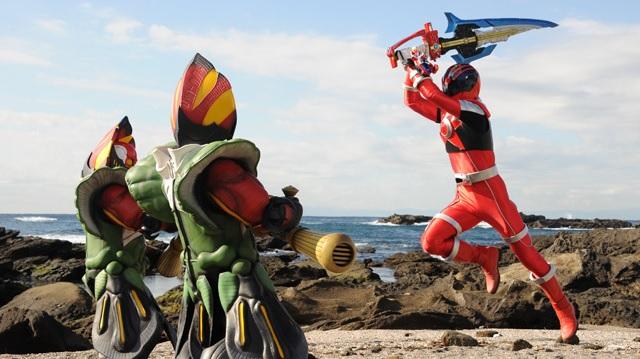 Next Time on Uchuu Sentai Kyuranger: Episode 1