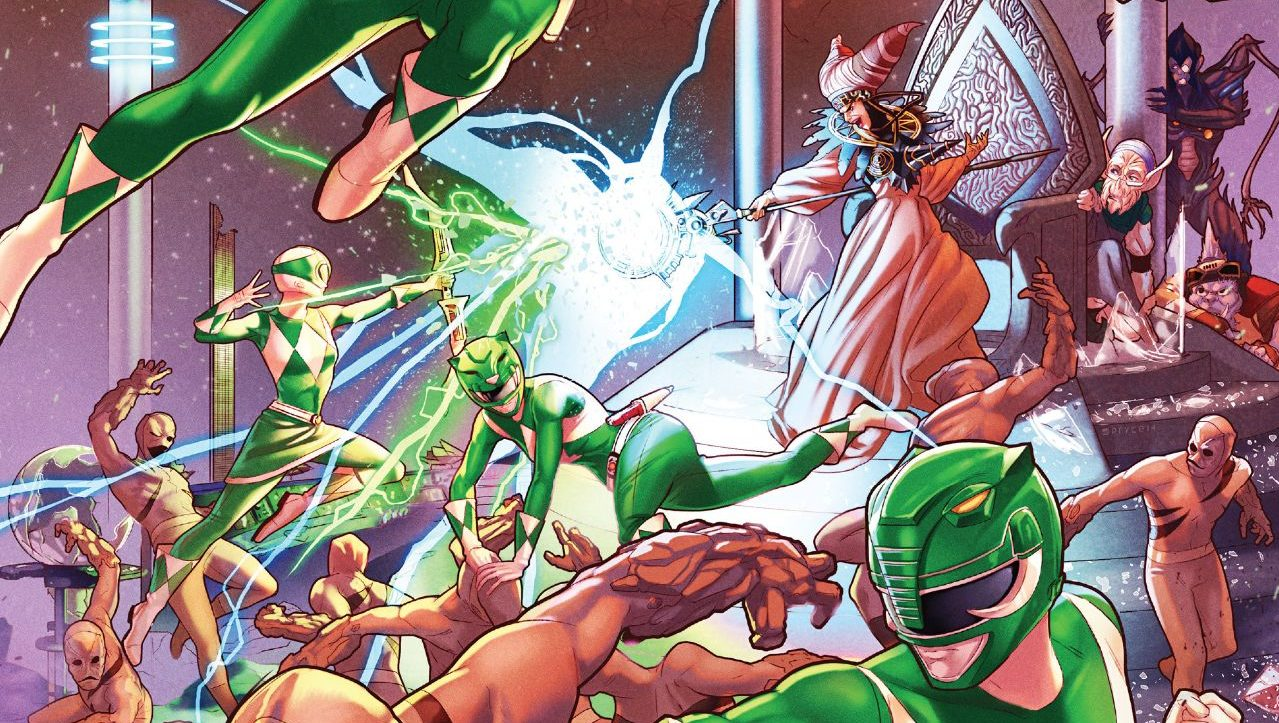Comics Corner: Mighty Morphin Power Rangers #13