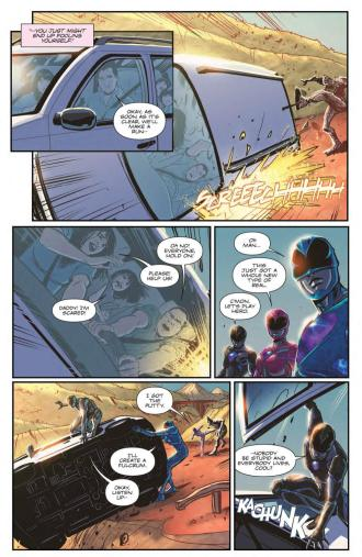 Saban's Power Rangers - Aftershock_Preview_6